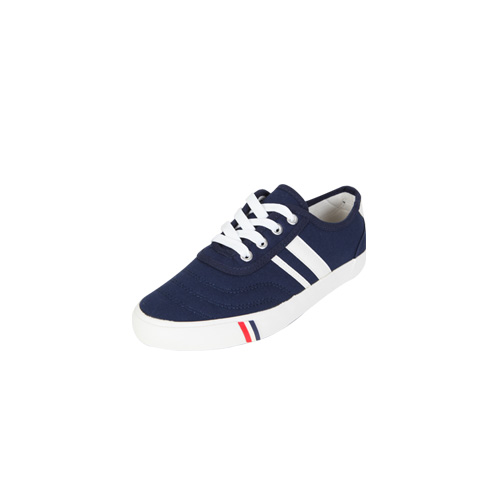 Dabagirl Striped Stitch Accent Sneakers