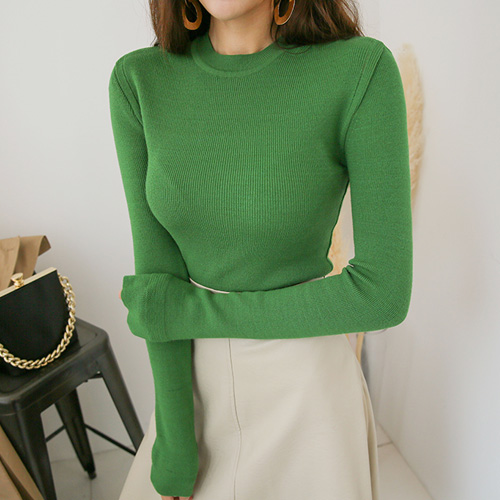 Dabagirl Slim Fit Extended Sleeve Knit Top