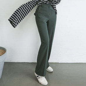 Dabagirl Relaxed Fit High-Rise Slacks