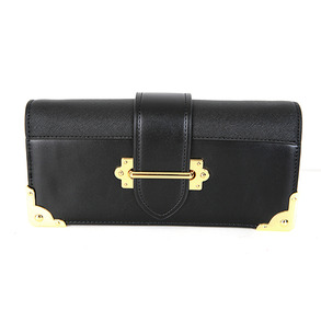 Dabagirl Gold-Tone Buckle Rectangle Clutch Bag