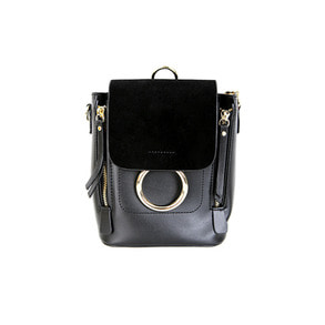 Dabagirl Round Buckle Detail 3-Way Carry Bag