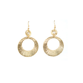 Dabagirl Drop Hoop Earrings